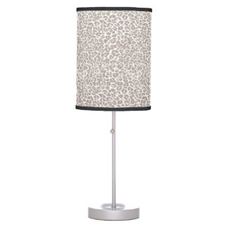 Just Snow Leopard Desk Lamp