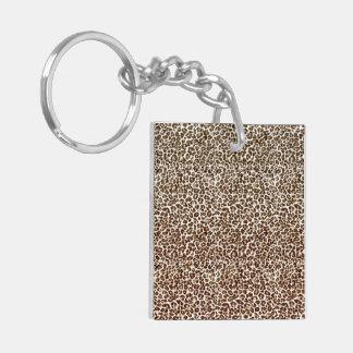 Just Snow Leopard Keychain