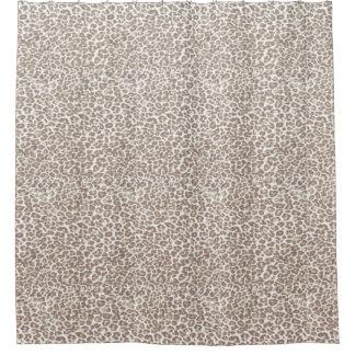 Just Snow Leopard Shower Curtain