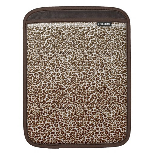 Just Snow Leopard Sleeves For iPads