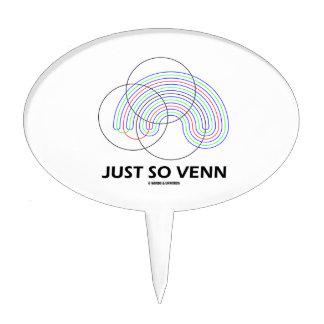 Just So Venn (Venn Diagram) Cake Topper