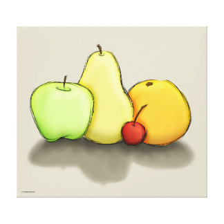 Just Some Fruit Stretched Canvas Prints