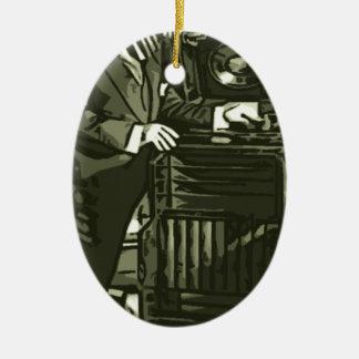 just some Zebra Music Ornament