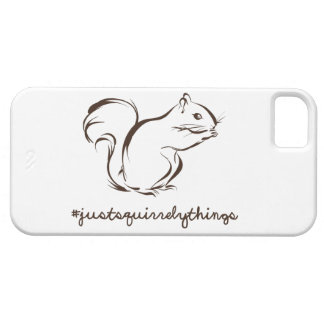 Just Squirrely Things Squirrel iPhone SE/5/5s Case