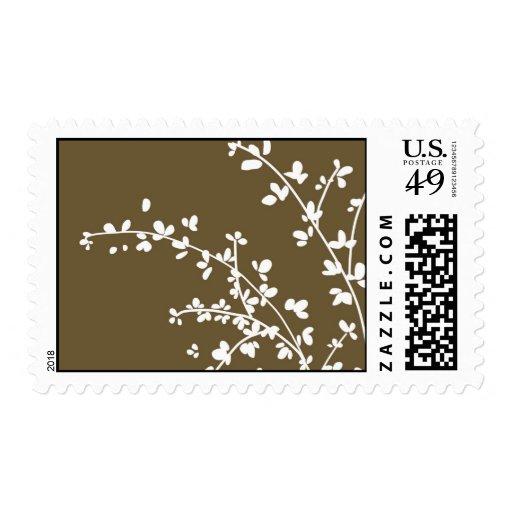 just stamp leaves brown