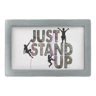 Just Stand Up Belt Buckle
