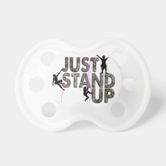 Just Stand Up Pacifier