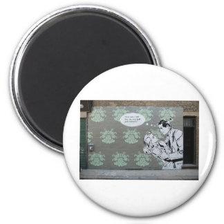 Just Stencils 2 Inch Round Magnet