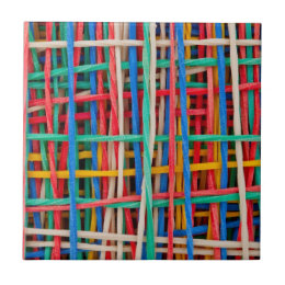 Just strings attached ceramic tile
