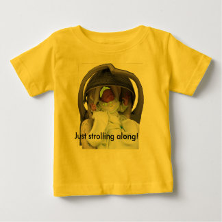 Just strolling Along baby shirt