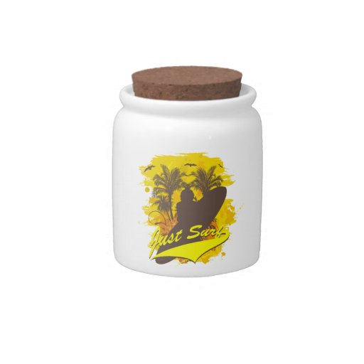 Just Surf Candy Jars