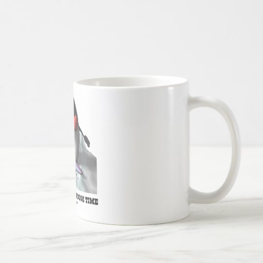 Just Surfin' Through Time (Duke On Surfboard) Classic White Coffee Mug