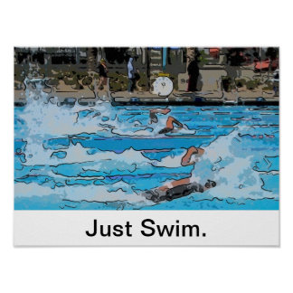 Just Swim Poster