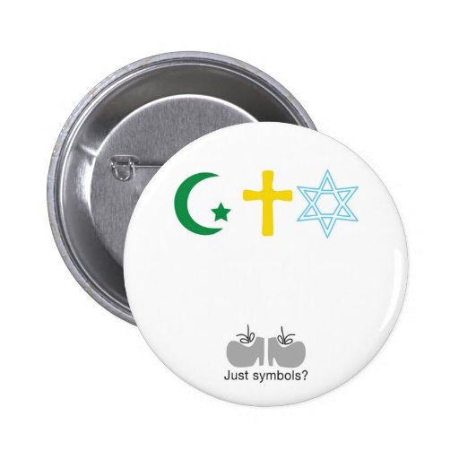 Just symbols? pinback button