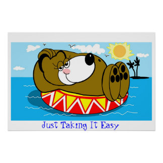 Just Taking It Easy Poster