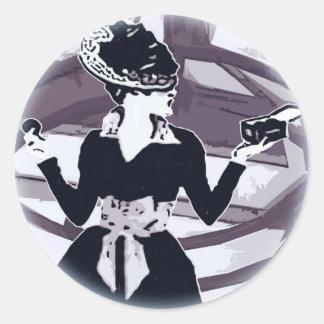Just that girl Round Classic Round Sticker