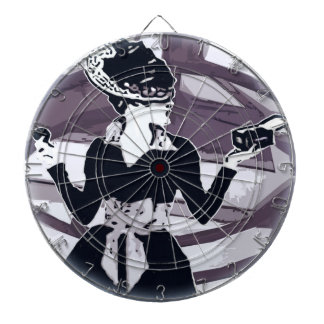 Just that girl Round Dartboards