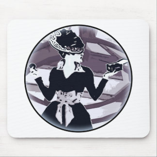 Just that girl Round Mouse Pad