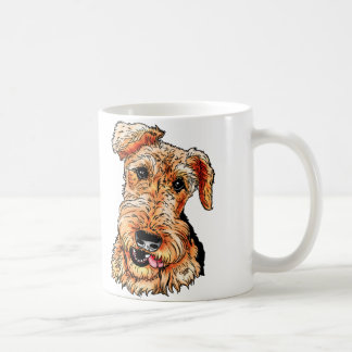 Just the Airedale Terrier Classic White Coffee Mug