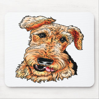 Just the Airedale Terrier Mousepad