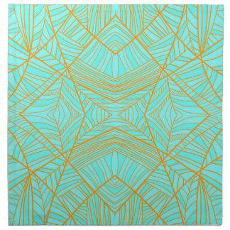 Just The Blues Cloth Napkin Set by KCS