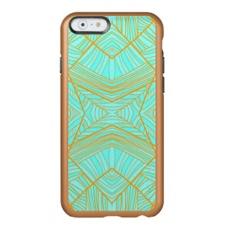 Just the Blues Geo Pattern by KCS Incipio Feather® Shine iPhone 6 Case