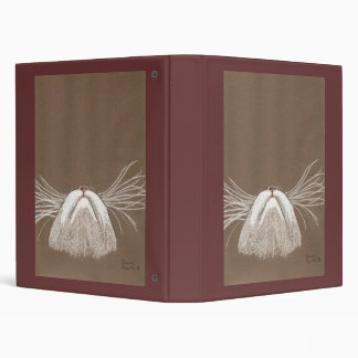 Just the Cats Whiskers 3 Ring Binder