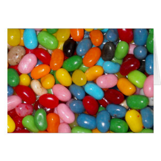 Just The Jelly Beans Card