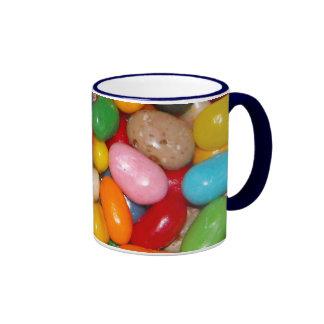 Just The Jelly Beans Ringer Mug