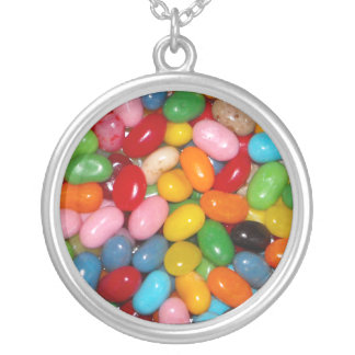 Just The Jelly Beans Round Pendant Necklace