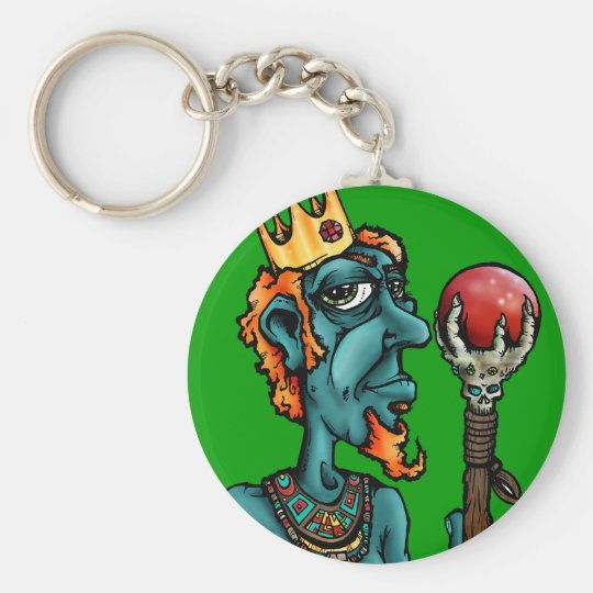 Just the King Keychain