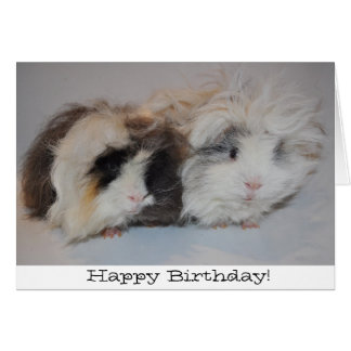 Just the two of us birthday card