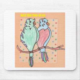 just the two of us mouse pad