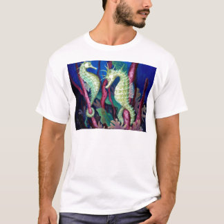 Just The Two Of Us - Seahorse Art T-Shirt