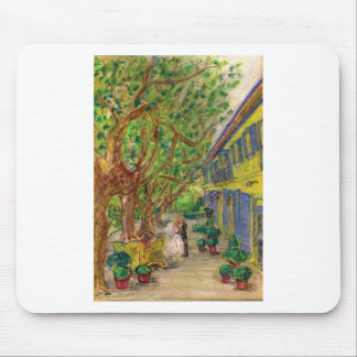 Just the Two of Us (Wedding art) Mouse Pad