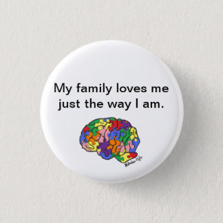 """Just the way I am"" button"