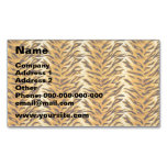 Just Tiger Magnetic Business Cards (Pack Of 25)