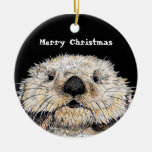 Just To Cute ! Merry Christmas Christmas Ornament