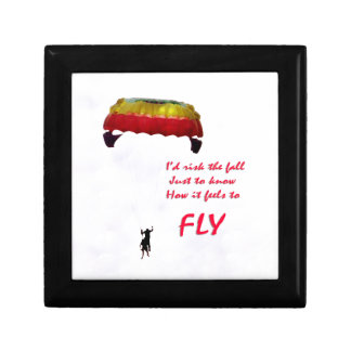 Just to know how it feels to fly jewelry box