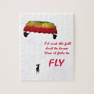 Just to know how it feels to fly jigsaw puzzle