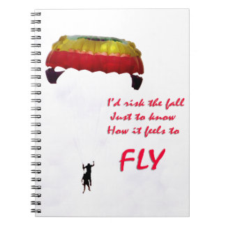 Just to know how it feels to fly notebook
