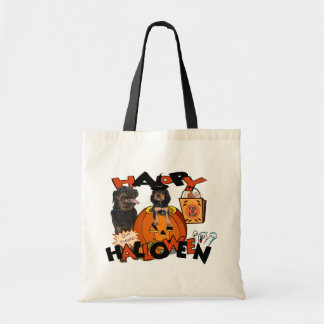 Just Too Cute Rottweiler Puppy Accompanied by Papa Tote Bag