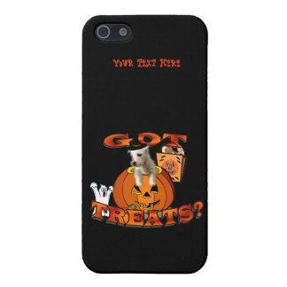 Just Too Cute Westie Puppy, Peeking Out of Pumpkin iPhone SE/5/5s Case