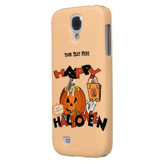 Just Too Cute Westie Puppy, Peeking Out of Pumpkin Samsung S4 Case
