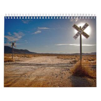 Just Tracks 2015 Railroad Calendar