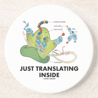 Just Translating Inside (Protein Synthesis) Drink Coaster
