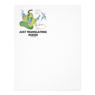 Just Translating Inside (Protein Synthesis) Letterhead