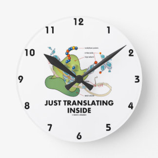 Just Translating Inside (Protein Synthesis) Round Clock