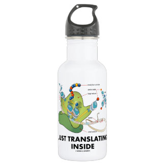 Just Translating Inside (Protein Synthesis) Stainless Steel Water Bottle