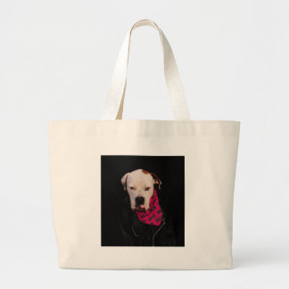 Just try it! large tote bag